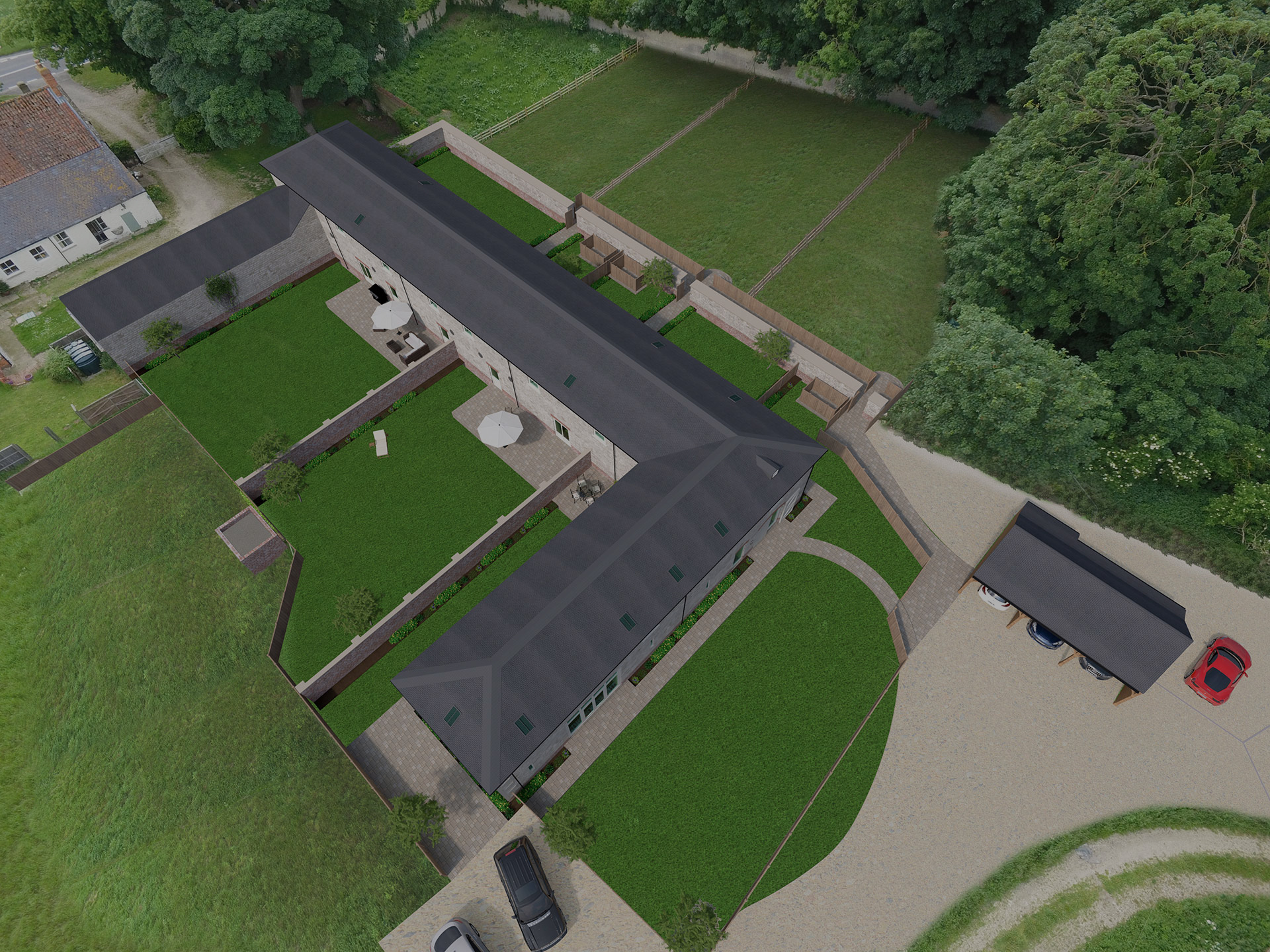 New Converted Barns For Sale!